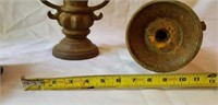 Vintage Large Heavy Cast Iron Spindles