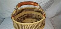 Handwoven African Origin Basket