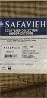 Safavieh courtyard collection indoor/outdoor rug