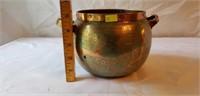 Acuna Hand Wrought Copper Vintage Bowl Chilè