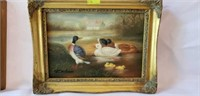 Lot of 2 Master Painter Miniatures Framed