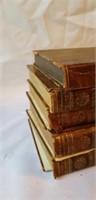 Lot of 5 Antique Books