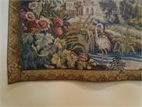 Beautiful Hanging Tapestry & Decorative Rod