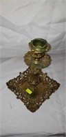 Nice Antique Brass Candlestick