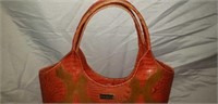 Stunning Brahmin Alligator Large Handbag