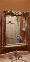 Awesome Antique Chippendale Mirror Repurposed