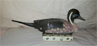 VERY RARE Moset Duck Decoy Moses Tolliver