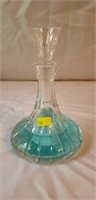 Nice Glass Perfume Decanter with Stopper