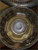 Antique Metal Kerosene Oil Space Heater