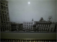 Beautiful Vintage Black & White  Print Montgomery
