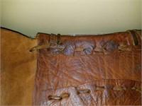 Handmade Leather Vintage Coin Satchel