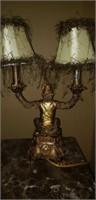 Awesome monkey double lamp