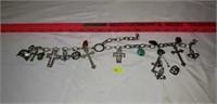 Nice Chain full of Custom Charms