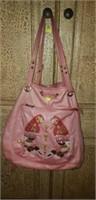 Ima Nima handbag with parrot design
