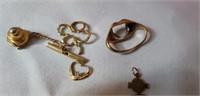 Estate lot of Various Gold Pieces Treasure lot
