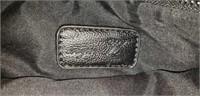 Aryn k Cerulean zipper studded clutch