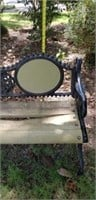 Vintage Outdoor Heavy  Cast Iron Park Bench