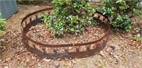 Large Iron Deer Tree or Firepit Surround