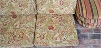 Lot of 8 Outdoor Patio Chair Cushions