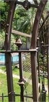 Beautiful metal architectural garden arche