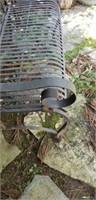 Beautiful iron outdoor love seat