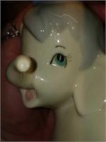Super Cute Spanish Porcelain Casades Elephant