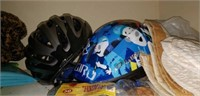 Bike Helmets, float for pool, place mats, & more