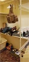 Estate Closet lot of Misc. Flying Belts & More