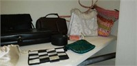 Estate Closet lot Bags Pillows & More