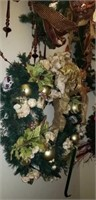 Christmas Garland, and wreaths,