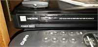Panasonic dvd player with remote, sanyo vhs