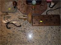 Lot of Estate Decor Items for Bar