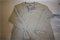 Hanes Men's Long Sleeve Shirt Size Large