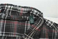 Bass Men's Flannel Long Sleeve Size Medium