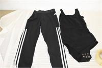 Adidas Leggings Size M & Leotard Size Sm/M