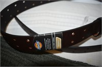 Dickie Leather Belt Size 38 & Shorts Size L