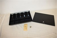 Cash Box with Lid & Key