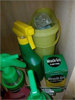 Cabinet Full of Miracle-Gro, plant feed, Bubbles