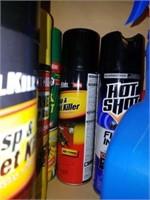 Cabinet FULL of Cleaner, Polish, Stain, Etc