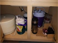 Cabinet of Cooler, Thermos, Dehydrator, etc