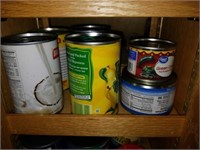 Pantry FULL of Canned foods, Packaged foods, Etc