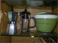 Cabinet Full of Kitchen Items