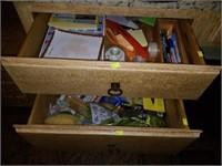 2 Drawer Fulls Office Misc Items