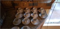 Huge lot of Demitasse Cups and Saucers