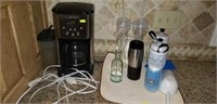 Kitchen lot Cuisinart Coffee Maker and More