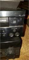 Estate lot of a Yamaha receiver, disc player, etc