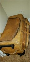 Orvis leather vintage suitcase