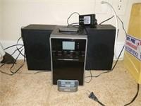 RCA iPod Docking Radio & Speakers