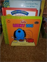 Lot of Childrens' Books, Puzzle, Toys, Stickers