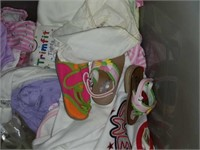 Entire Contents of Right Side of Closet-Baby Stuff
